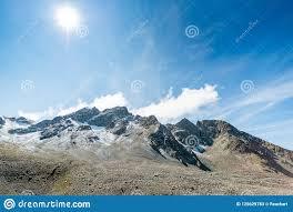 100 Muottas Muragl View Of The Top Of Near St Moritz Stock Image