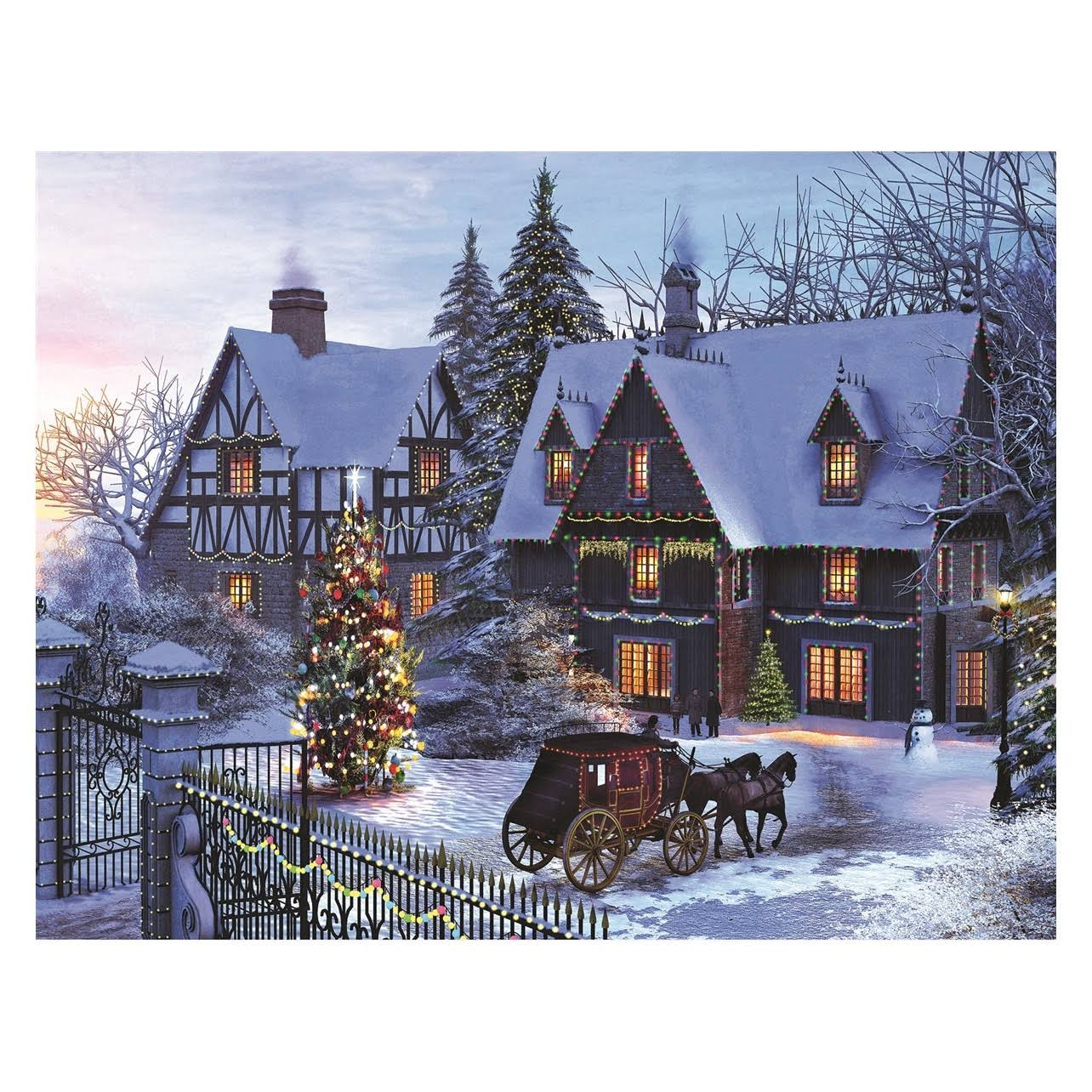 Springbok Home for Christmas 350 Piece Jigsaw Puzzle