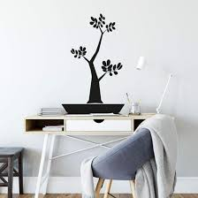 wandtattoo bonsai