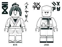 Lego Ninjago Kai Coloring Pages Color Jay Good And Printable Page