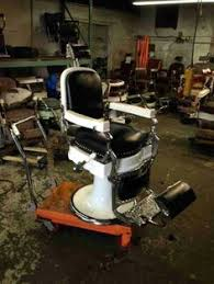 Theo A Kochs Barber Chair Footrest by Avail Chairs Antique Barber Chair Restoration Metal