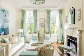 teal living room curtains living room transitional with ceiling
