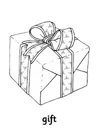 Gift Free Printable Coloring Pages Christmas