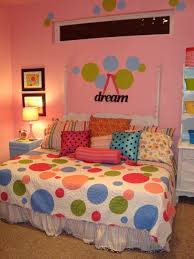 Polka Dot Bedroom This 8 Year Old Girls Is Bright Funky And Perfect For