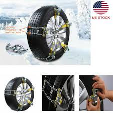 100 Truck Chains US Stocks Deluxe AntiSkid Snow Mud Tire Iron Car Wheel