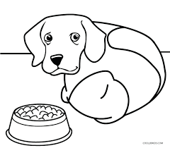 Printable Dog Coloring Pages For Kids Cool2bkids Dogs Christmas Puppy Free