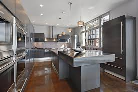 Modern Grey Kitchen Cabinets These Dark Are The Absolute Height Of Contemporary