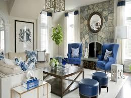 Image Of Navy Blue Living Room Furniture