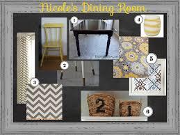 Nicoles Dining Room Inspiration Board