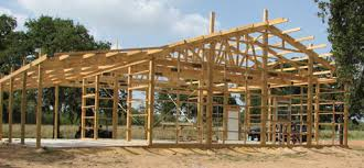 pole barn construction and building your own home