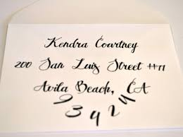 HOW TO Create A Simple Calligraphy Envelope Great For Beginners