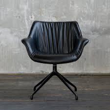 kawola esszimmerstuhl mino drehstuhl kunstleder schwarz kaufen otto