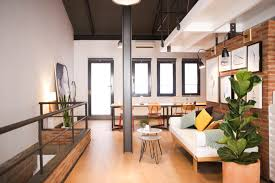 100 Creative Space Design Workspace Tour An Artists Industrial Barcelona LiveWork Loft