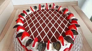 himbeer schachbrett torte