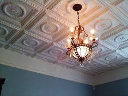 Styrofoam Ceiling Panels Home Depot by Faux Tin Ceiling Tiles For 99 Cents Per Panel Home Depot Modern