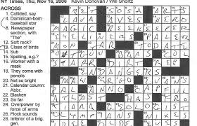 Rex Parker Does the NYT Crossword Puzzle THURSDAY Nov 16 2006