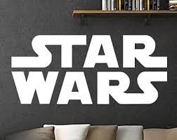 Star Wars Room Decor by Star Wars Wall Decal Etsy