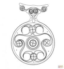 Click The Celtic Design Coloring