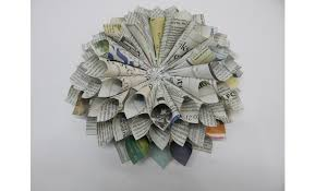 Newspaper Craft Ideas Flowers At Hobby