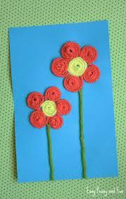 Best 25 Yarn Flowers Ideas On Pinterest
