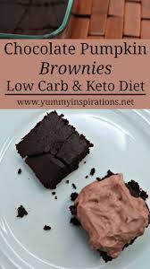 Healthy Chocolate Pumpkin Desserts by Low Carb Chocolate Pumpkin Brownies Recipe Flourless Keto Brownies