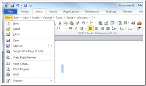 2 Tools to Get Classic Menu and Toolbars back in Microsoft fice