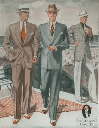 Summer Suits In Brown Pinstripes With Spectators Odd Jacket Combination