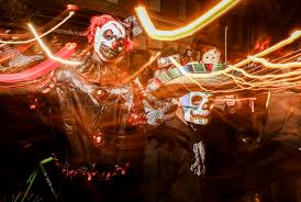 Fells Point Halloween 2017 by Light Painting 101 Visual Individual