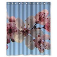 Cherry Blossom Curtain Blue by Cheap Blossom Shower Curtain Find Blossom Shower Curtain Deals On