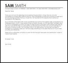Promotion Acceptance Letter Acceptance Letters
