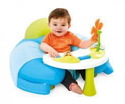 table activité bébé avec siege cotoons cosy seat asst 1er eveil cotoons premier age