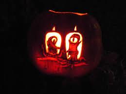 Free Headless Horseman Pumpkin Template by Simpson Pumpkin Carving Ideas Halloween Radio Site
