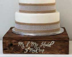 Innovative Decoration Rustic Wedding Cake Stand Chic Ideas Wooden Decor