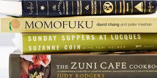 The Epicurious Cookbook Canon Longlist