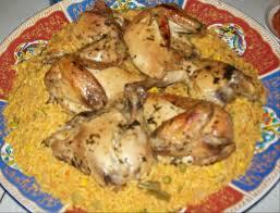 cuisine avec du riz recette poulet au four et riz aux légumes recettes maroc