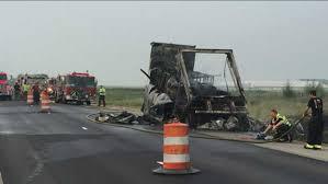 100 Hazmat Truck Fire Hazmat Situation Closes Southbound I65 At SR 10 In