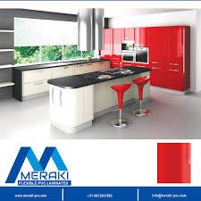 Pvc Modular Kitchen Colors