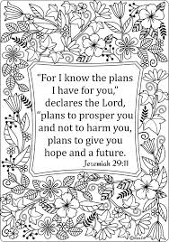 15 Printable Bible Coloring Pages With Verses For Adults Colouring