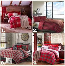 Plaid Comforters And Duvets Perfect For A Rustic