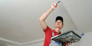 comment lessiver un plafond préparer le plafond avant de peindre