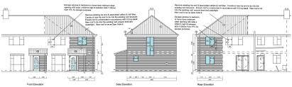 100 Architects Southampton 2 Storey Rear Extension Detached Garage GM