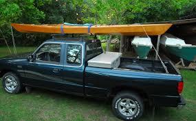Kayak Roof Rack For Pickup Truck, Homemade Kayak Truck Rack | Trucks ...