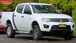 1985 Mitsubishi Truck - YouTube Possibilities Of The New 2019 Mitsubishi Raider Allnew L200 Debuting At Geneva Motor Show Carscoops Fiat Sign Mou On Development Midsize Truck Used 2013 Mitsubishi Fe160 Crew Cab Dump Truck For Sale In New Pick Up Stock Photos Fuso Canter 9c18 Tipper 2017 Exterior And Minicab Wikipedia Distributor Resmi Truk Indonesia Danmark 1992 Fk Salvage For Sale Hudson Co 168729