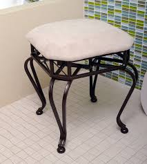 Vanity Chairs With Backs For Bathroom by Bathroom Vanity Chair For Bathroom Vanity Stools Or Benches