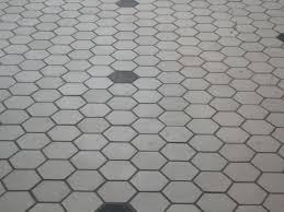 versatile hexagon tile bathroom floor for modern bathroom look