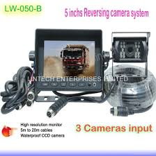 100 Truck Camera System 5 Inch Lowest Cost Rear View Camera System LW050B Lintech