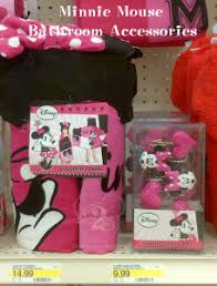 pleasing minnie mouse bathroom set on interior design for home