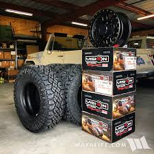New Duratrac Tires / Vision 398 Manx Wheels & Rancho Level It Kit ...