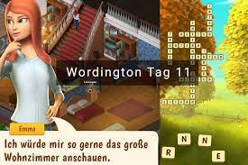 wordington lösung tag 11 starte in den neuen tag check app