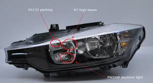 how to turn parking lights and yellow side lights